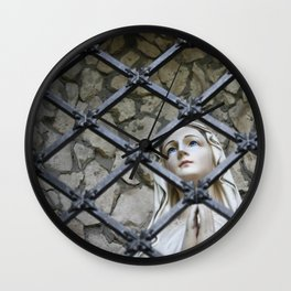 Safe from Harm Wall Clock