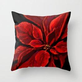 Poinsettia DPPA141225a Throw Pillow