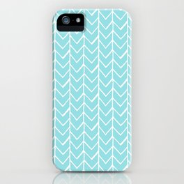 Herringbone Island Paradise iPhone Case