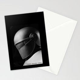 Klaatu 1 Stationery Cards