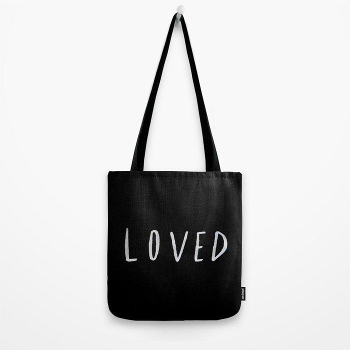 Loved II Tote Bag