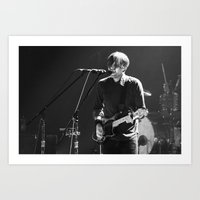 death cab for cutie Art Prints featuring Death Cab For Cutie by Adam Pulicicchio Photography