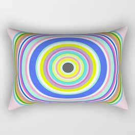 fun circle Rectangular Pillow