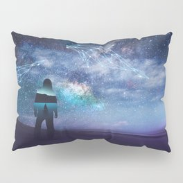 Constellation of the Dolphin by GEN Z Pillow Sham