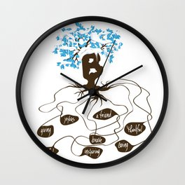 Be You See Why Series B Wall Clock