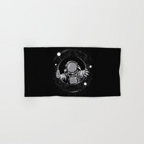 Black Hole Hand & Bath Towel