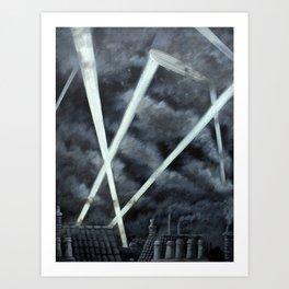 The Zeppelin Menace Art Print