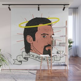We don't deserve St. Jack Pearson. Wall Mural