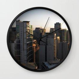 Makati Skyline Wall Clock