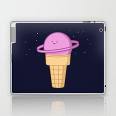 Saturn Cream Cone Laptop & iPad Skin