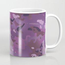 Camouflage: Violet Coffee Mug