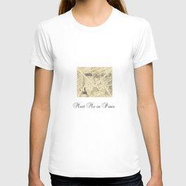 Parisian French Script T-shirt