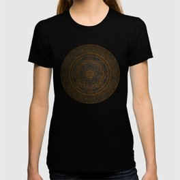 Circular Connections Copper T-shirt