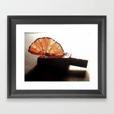 Pencil Shaving Framed Art Print