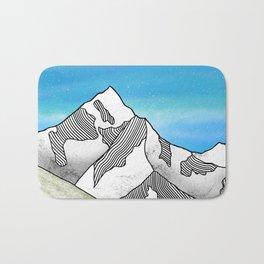Mt Everest Bath Mat