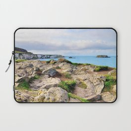 Carrick-a-rede coast Laptop Sleeve