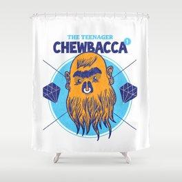 Hipster Chewie Shower Curtain