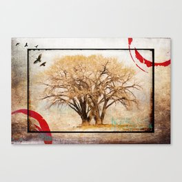 EARLY SPRING RISING Canvas Print