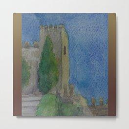 Alcazaba Tower WC151209m-14 Metal Print