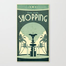 The OC: Shopping Canvas Print