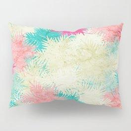 Tropical Fan Palm Paradise – Colorful Pillow Sham
