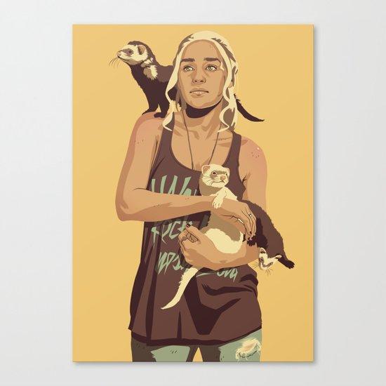 80/90s - Dae T. Canvas Print