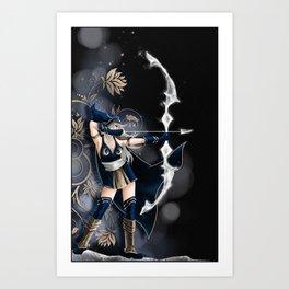 Archère Art Print