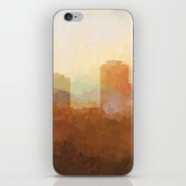 New Orleans, Louisiana Skyline - In the Clouds iPhone Skin