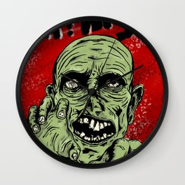 Grr! Argh! Zombie Wall Clock