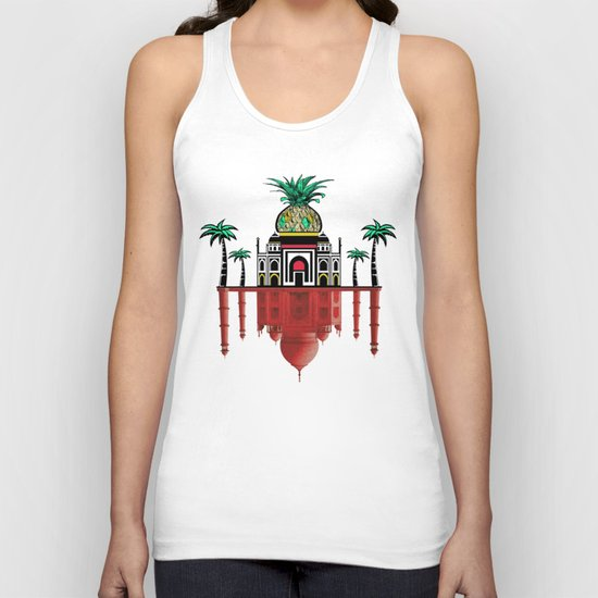 pineapple architecture 2 Unisex Tank Top