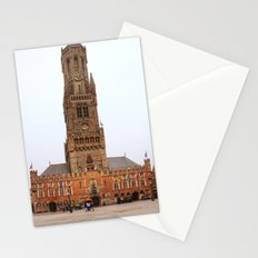Tower in Brugge  Stationery Cards