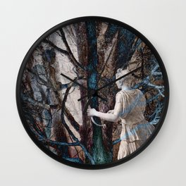 Diana in the Magic Forest Wall Clock