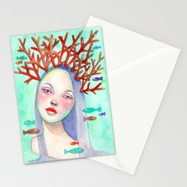 Coralie Stationery Cards