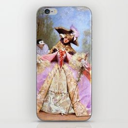Victorian Masquerade Ball iPhone Skin