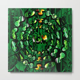 Flowers in Another ism Metal Print