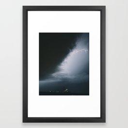 Midwestern Storm Framed Art Print