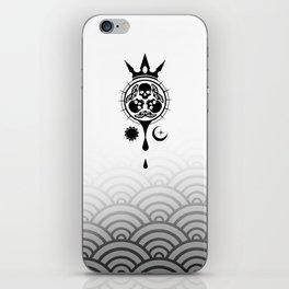 SamGen Logo - White iPhone Skin