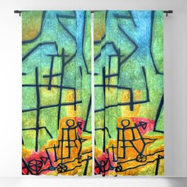 Paul Klee Conquest of the Mountain Blackout Curtain