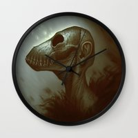 dead Wall Clocks featuring Dead by Yoncho Yonchev