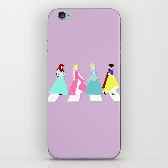 Princesses Road iPhone Skin