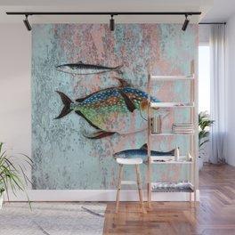 Into the Deep, Ocean Swimming Fish Wall Mural