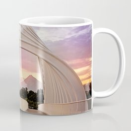 Mount Taranaki Framed Coffee Mug