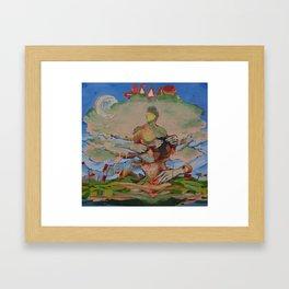 Sow Framed Art Print