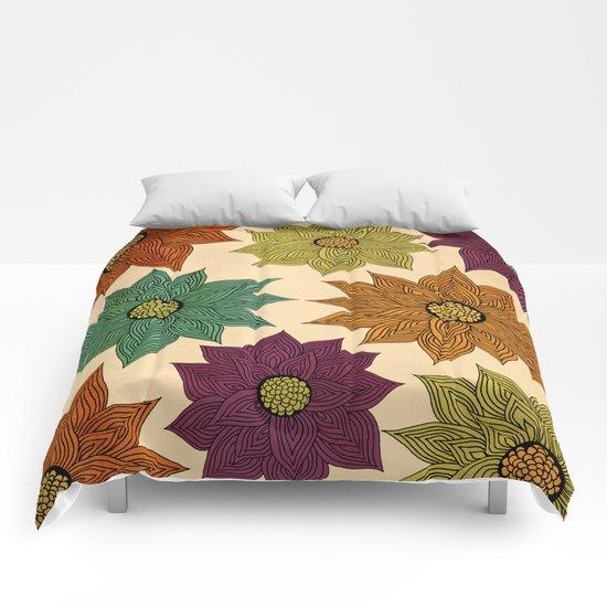 Color Me Floral Comforters