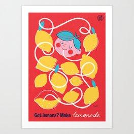 """Ministry of Optimistic Directives - """"Got Lemons?"""" Art Print"""