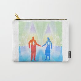 Diamond Twin Souls Carry-All Pouch