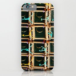 Square Lobster Traps iPhone Case
