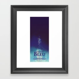 Le Grand Bleu Framed Art Print