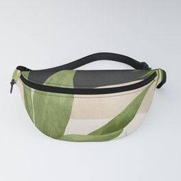 Abstract Art Tropical Leaf 11 Fanny Pack