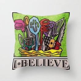 I.Believe|Cooking Throw Pillow